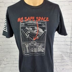 Grunt Style My Safe Space .50 Cal  black Graphic s